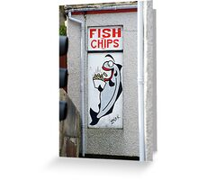 One happy haddock! Greeting Card