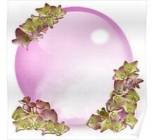 Hydrangea Globe Poster