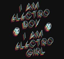 The Mighty Boosh – I Am Electro Boy, I Am Electro Girl Unisex T-Shirt