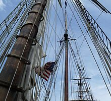 Masts and rigging on the Bounty by irmajxxx