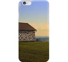 Traditional storage in autumn scenery | architectural photography iPhone Case/Skin