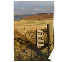 Shetland Landscape Poster