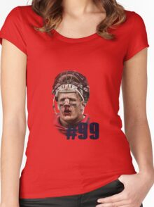 JJ Watt Women's Fitted Scoop T-Shirt