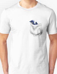 Little Dragon In My Pocket 1 - Blue T-Shirt
