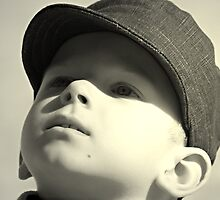 boy in the cap by warlik