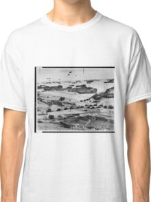 Landing Craft in Normandy France on D-Day June 6 1944 Classic T-Shirt