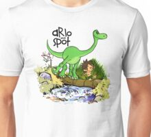 Arlo and Spot  Unisex T-Shirt