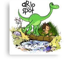 Arlo and Spot  Canvas Print