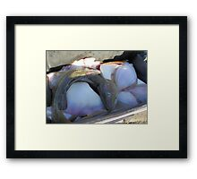 It Can be Sushi - Or  it Can be Cooked to Order! Framed Print