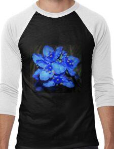 Blue beauties Men's Baseball ¾ T-Shirt