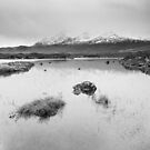 Loch Caol and the Black Cuillin Hills by Christopher Cullen