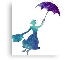 Galaxy Mary Poppins Canvas Print