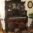 Large Organ in Parlor by Susan Savad