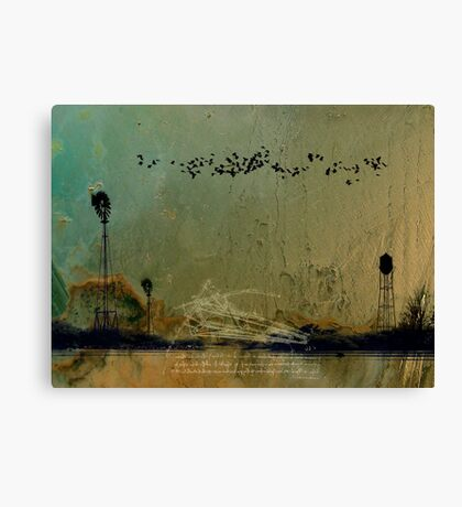 Theory of Flight - Blackbirds Canvas Print