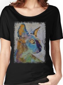 Sphynx Cat Women's Relaxed Fit T-Shirt