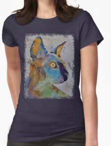 Sphynx Cat Womens Fitted T-Shirt