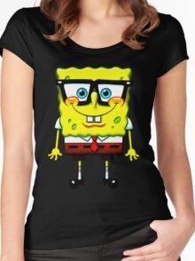 spongebob Women's Fitted Scoop T-Shirt