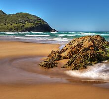 Goolawah Beach, Crescent Head, NSW by Steve Fox
