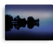 Mosquito Lake Fog Canvas Print