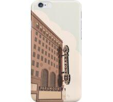 Paramount Theater  iPhone Case/Skin