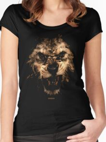 LION RISING Women's Fitted Scoop T-Shirt