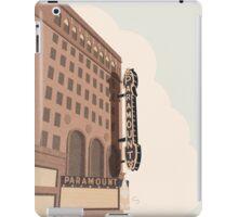 Paramount Theater  iPad Case/Skin