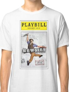 Colored Newsies Playbill Classic T-Shirt