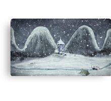 moomin valley Canvas Print