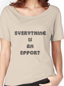 effort Women's Relaxed Fit T-Shirt