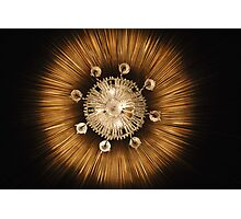 Chandelier Sun Photographic Print