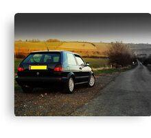 Mk2 Golf Canvas Print