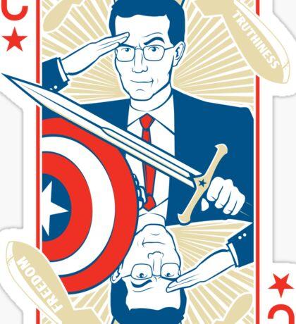 King Colbert Sticker