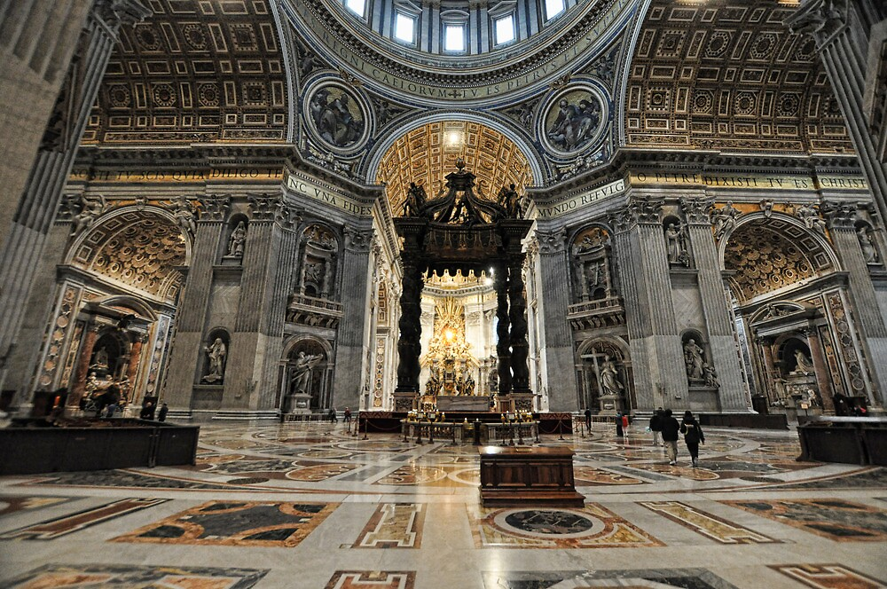 St. Peter's Basilica3 by Tom Davidson