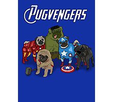 The Pugvengers Photographic Print