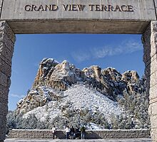 Mount Rushmore-Grand View Terrace by Tom Davidson