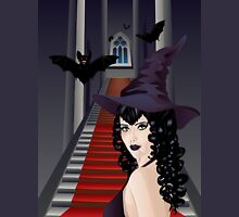 Gothic Stairs and Witch 2 Unisex T-Shirt