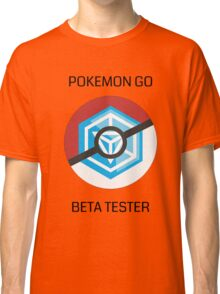 Ingress - Pokemon GO beta tester - V1 Classic T-Shirt