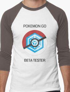 Ingress - Pokemon GO beta tester - V1 Men's Baseball ¾ T-Shirt
