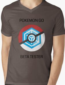 Ingress - Pokemon GO beta tester - V1 Mens V-Neck T-Shirt