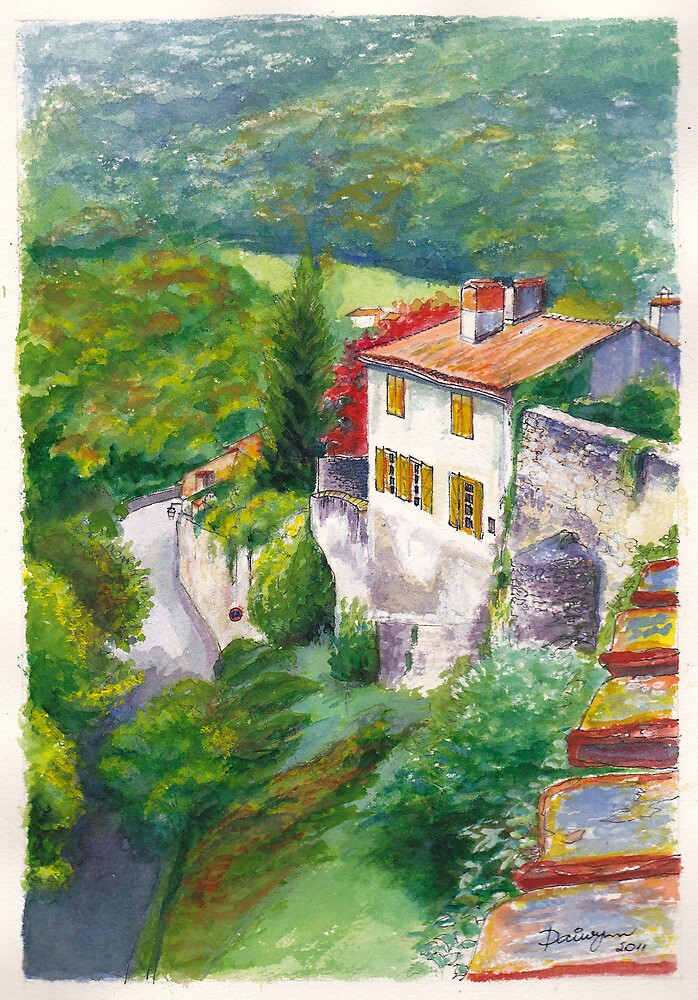 Saint Bertrand Mur (Wall) by Dai Wynn