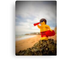 Baywatch Lego  Canvas Print