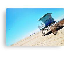 Summer Fun - Long Beach Canvas Print
