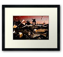 "Wushu series ""Autumn Leaves""  Framed Print"