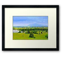 Allgäu Germany Framed Print