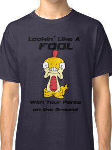 Pokemon- Scraggy- Pants on the Ground Classic T-Shirt