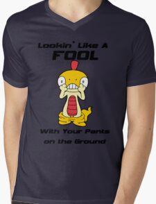 Pokemon- Scraggy- Pants on the Ground Mens V-Neck T-Shirt