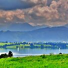 Lake Forggensee Bavaria Germany by Daidalos