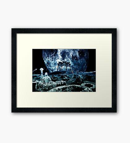 "Wushu series ""Moon"" Framed Print"