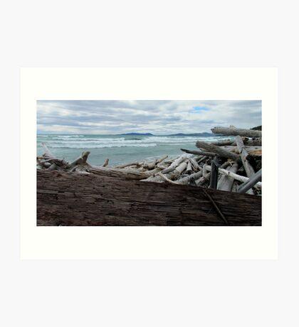Pic Island - Lake Superior- Marathon Ontario Canada Art Print