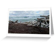 Pic Island - Lake Superior- Marathon Ontario Canada Greeting Card